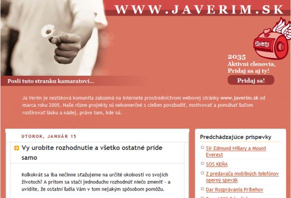 www.javerim.sk